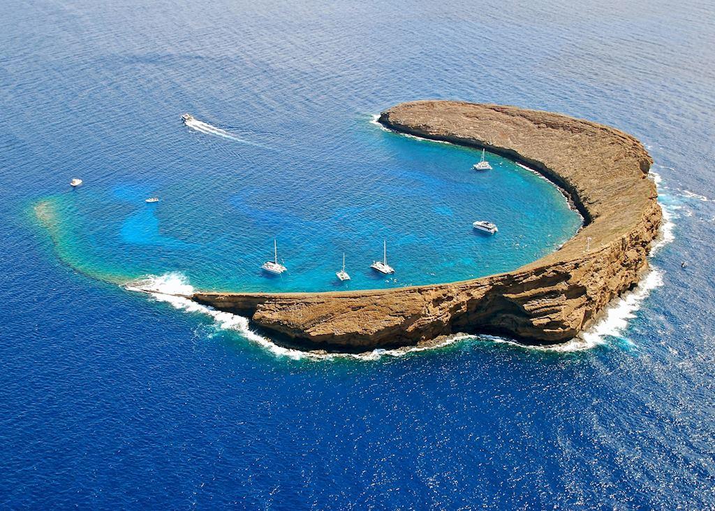 Hawaii Molokini crater