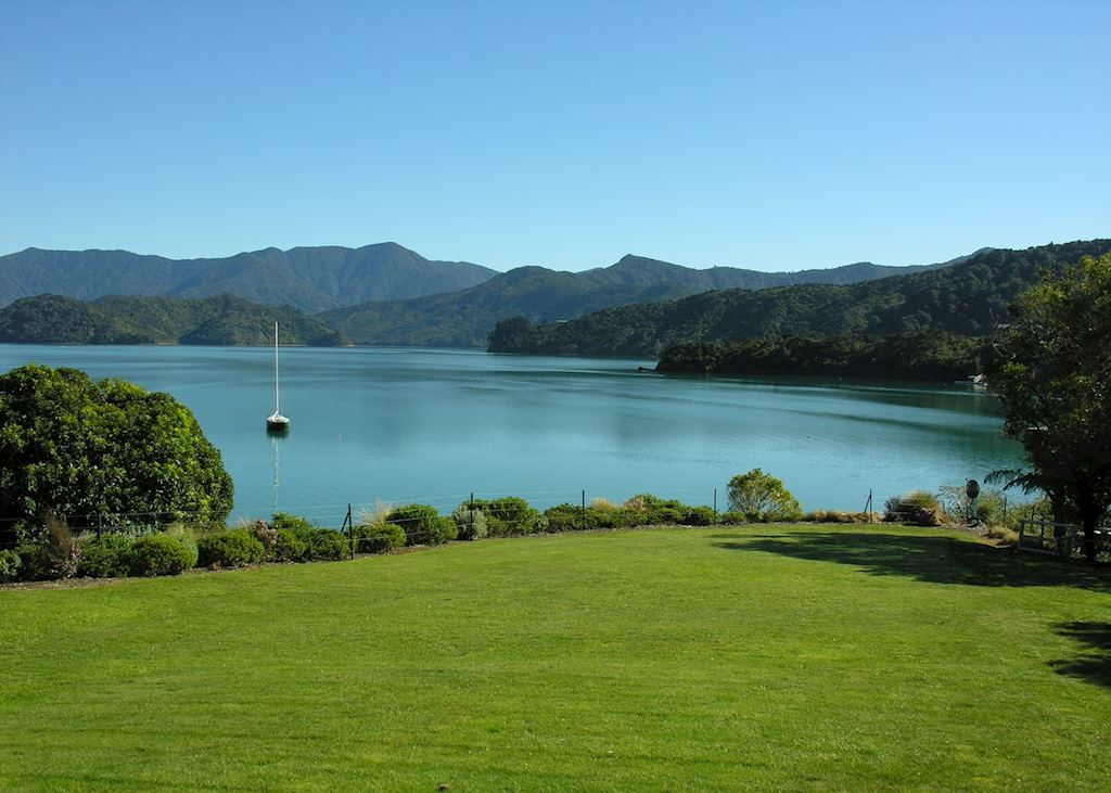 Marlborough Sounds scenery
