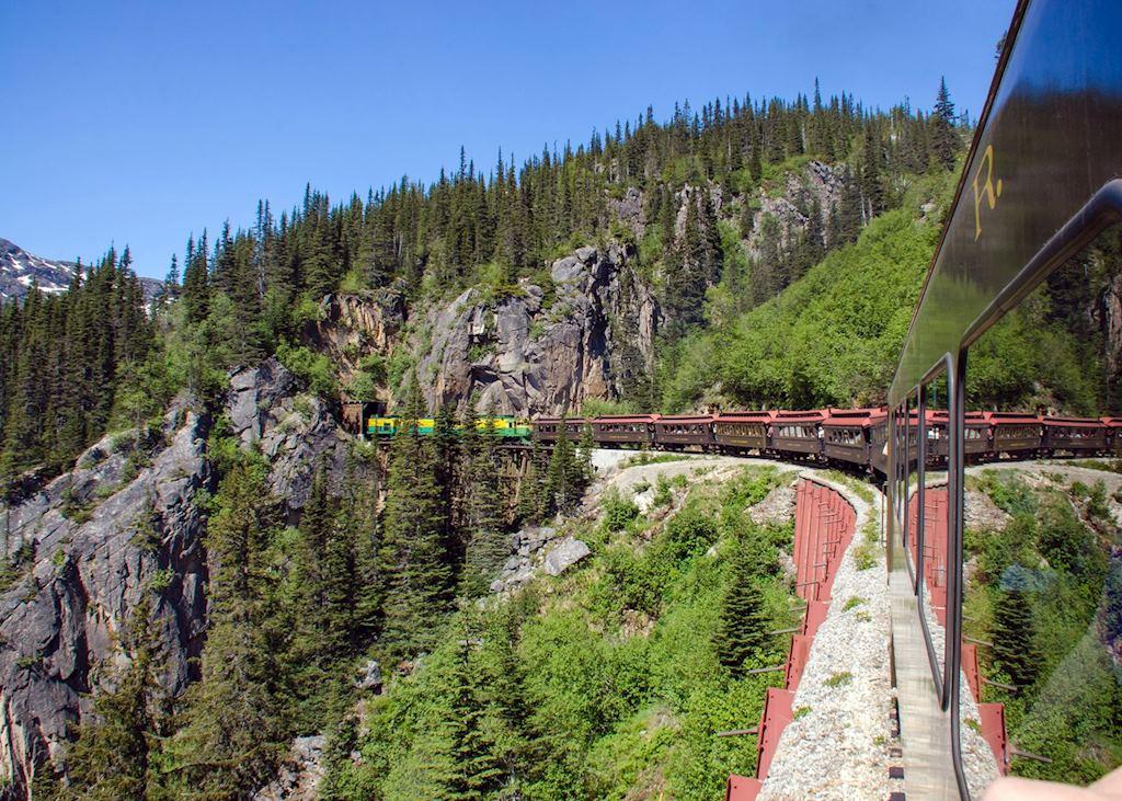 Riding the White Pass Railroad