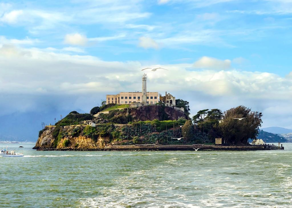 Alcatraz island,