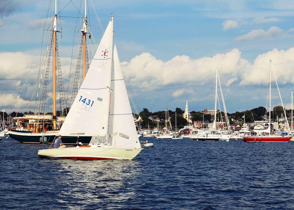 Newport Harbour Rhode Island