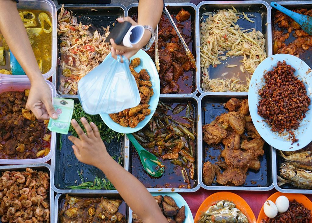 Food stall, Kuching