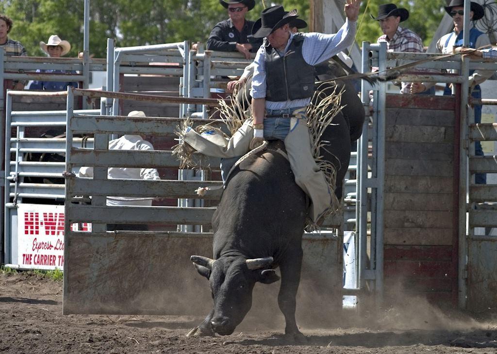 Handhills Bull Rider