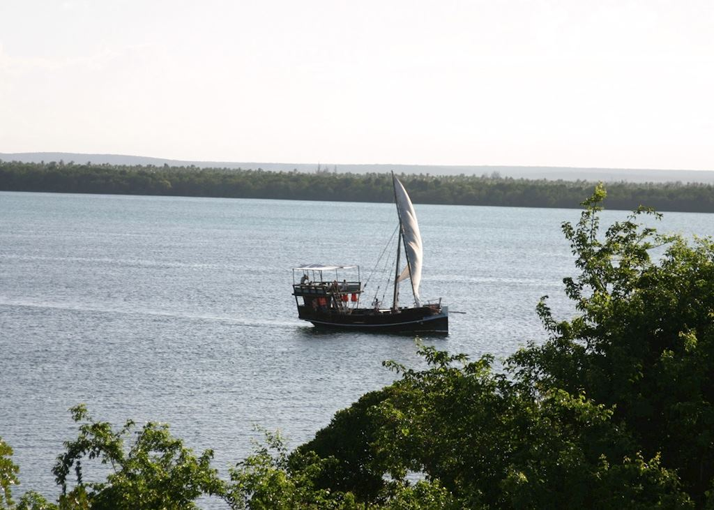 View from Dar Mida, Watamu