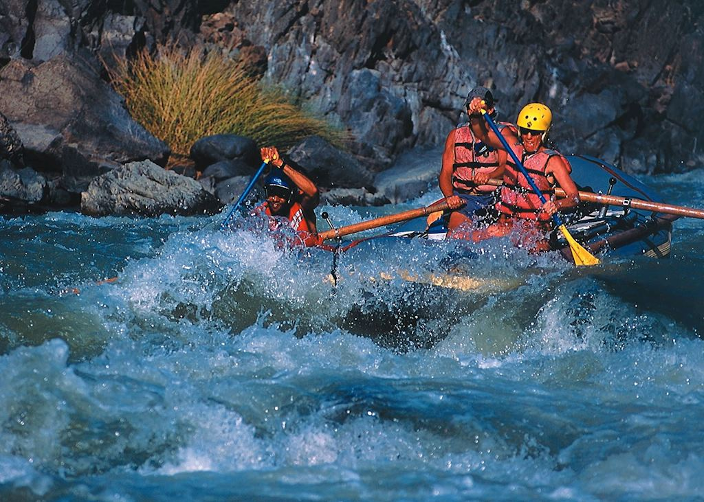 Rafting in the Sacred Valley