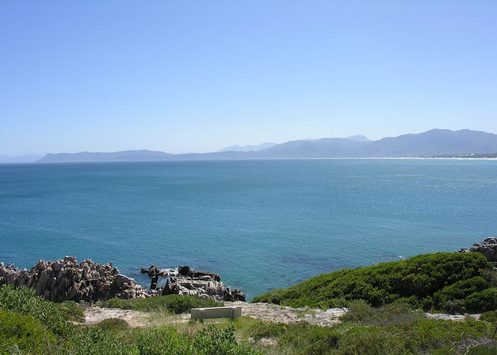 View from De Kelders across Walker Bay.