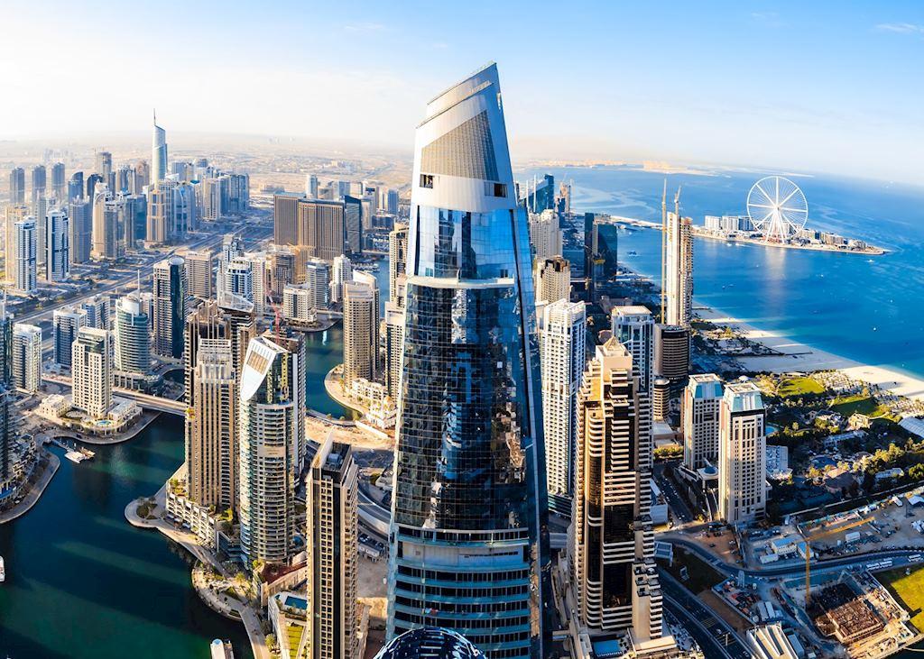 Dubai Marina skyline, Dubai