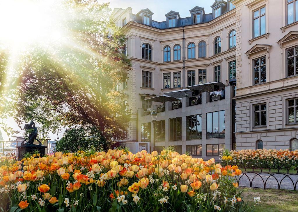 Lydmar Hotel terrace