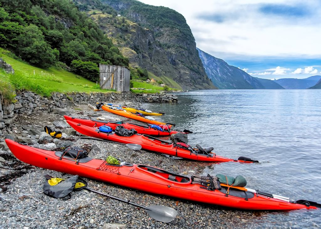 Kayaking from Balestrand
