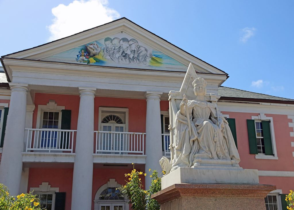 Government buildings Nassau