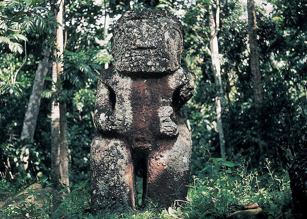 Tiki statue, Hiva Oa