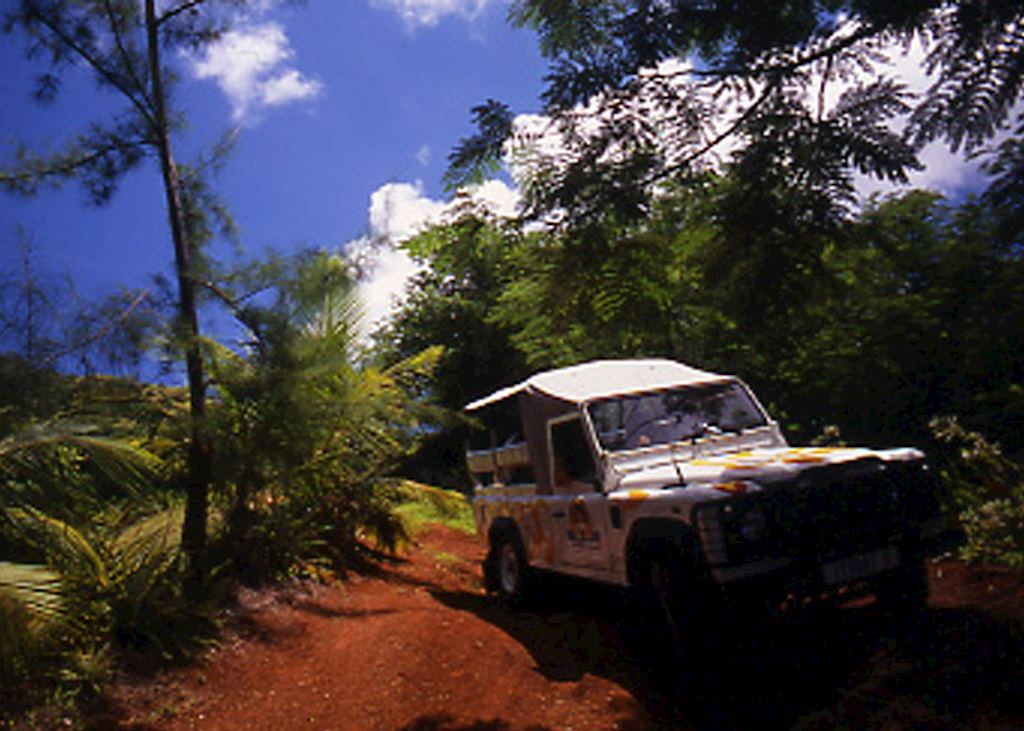 Four wheel drive safari, Huahine