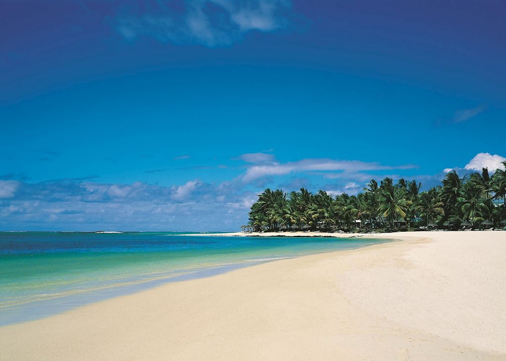 Mauritius is fringed by idyllic beaches