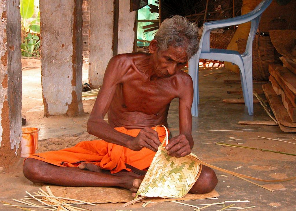 Basket Weaving, Palakkad