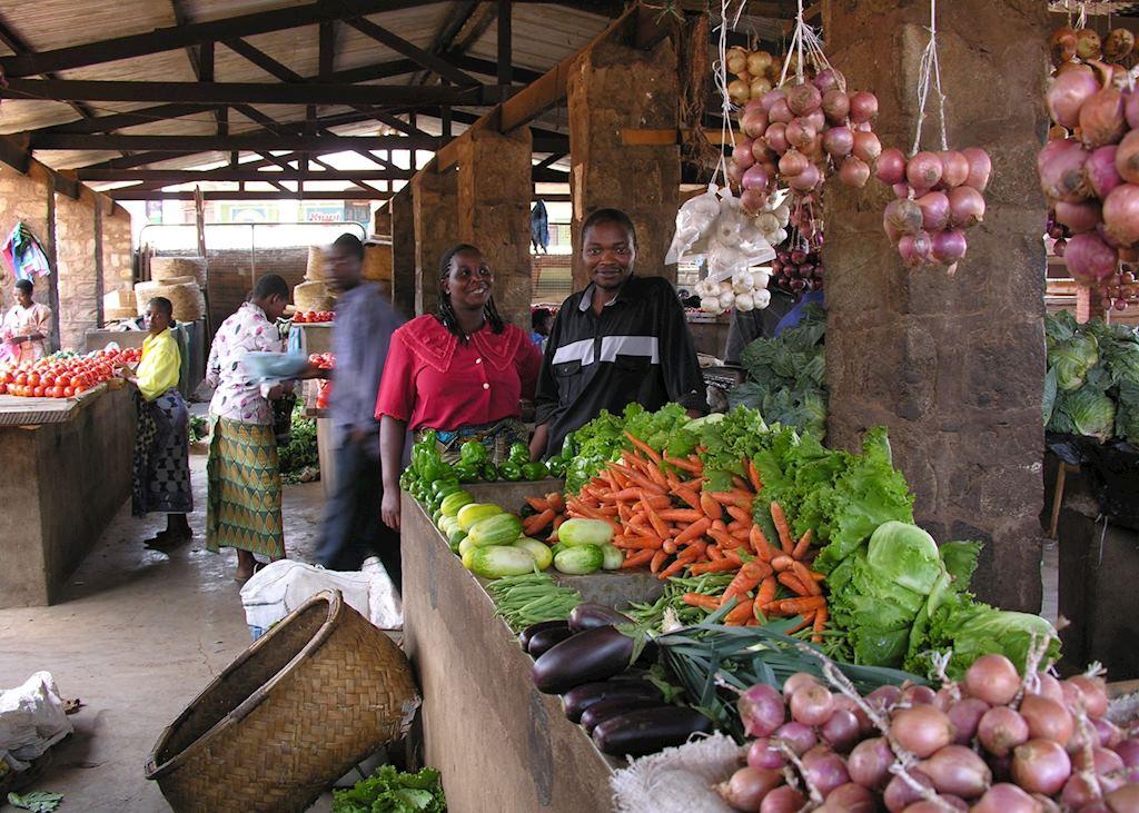 Market in Zomba
