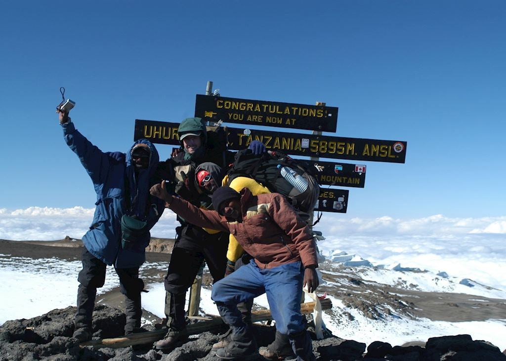 The Summit, Mount Kilimanjaro