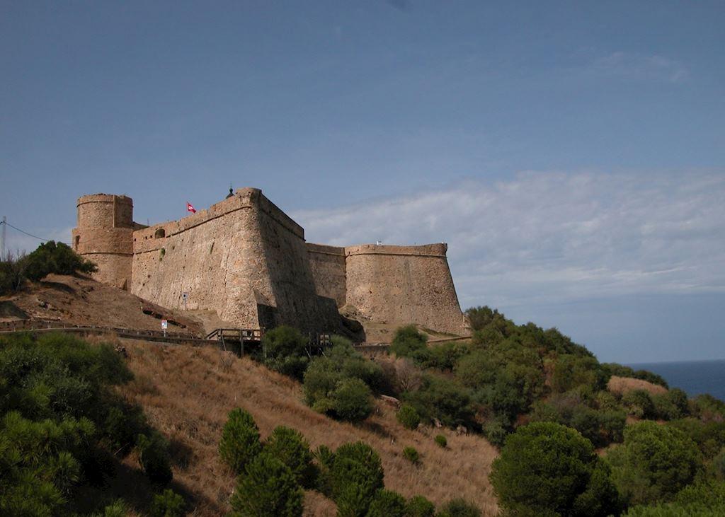 Tabarka Fort, Tunisia