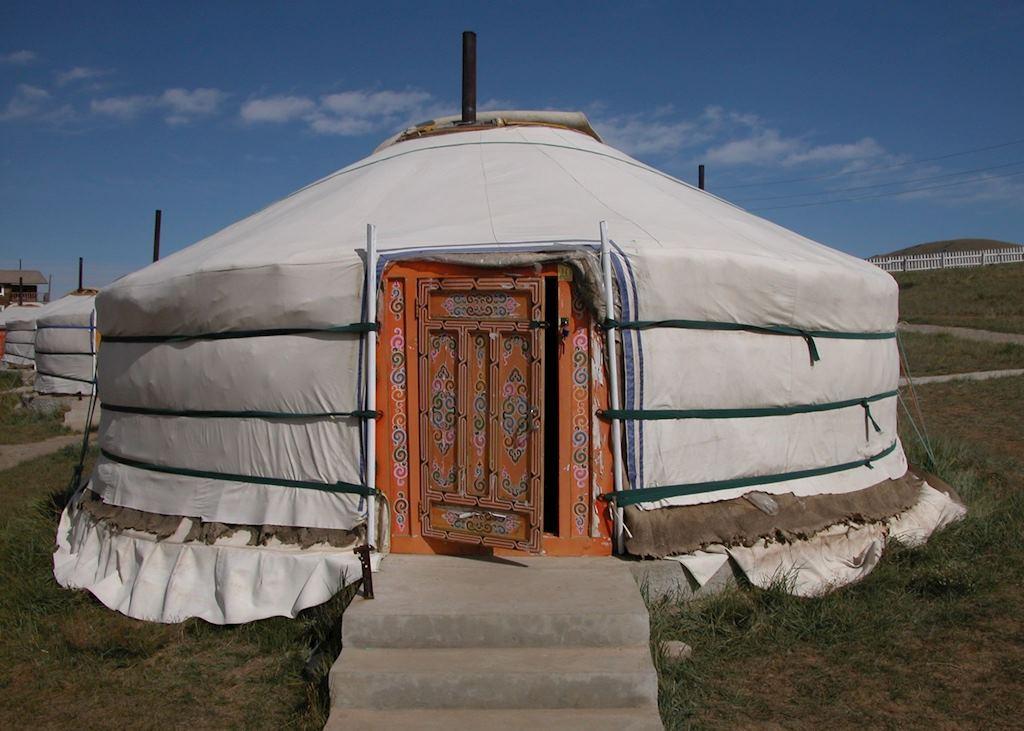 Traditional Ger Tent, Khustai Ger Camp, Khustai Nuruu National Park