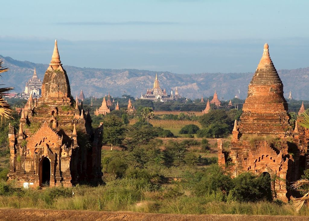 The temples of Bagan, Burma (Myanmar)