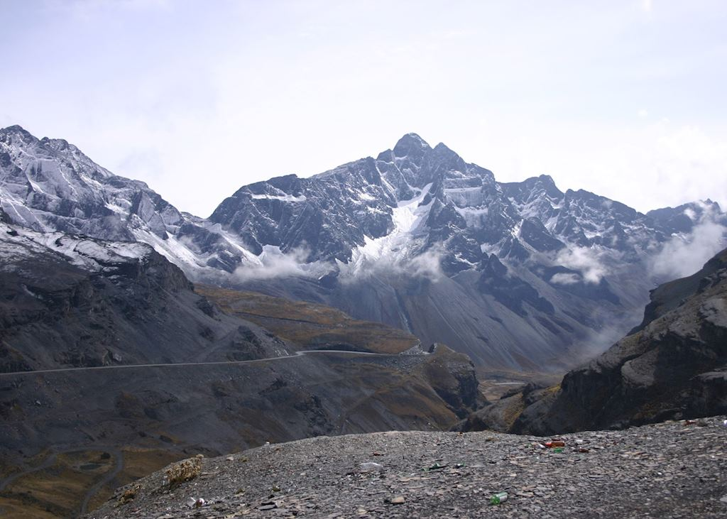 The World's Most Dangerous Road , near La Paz