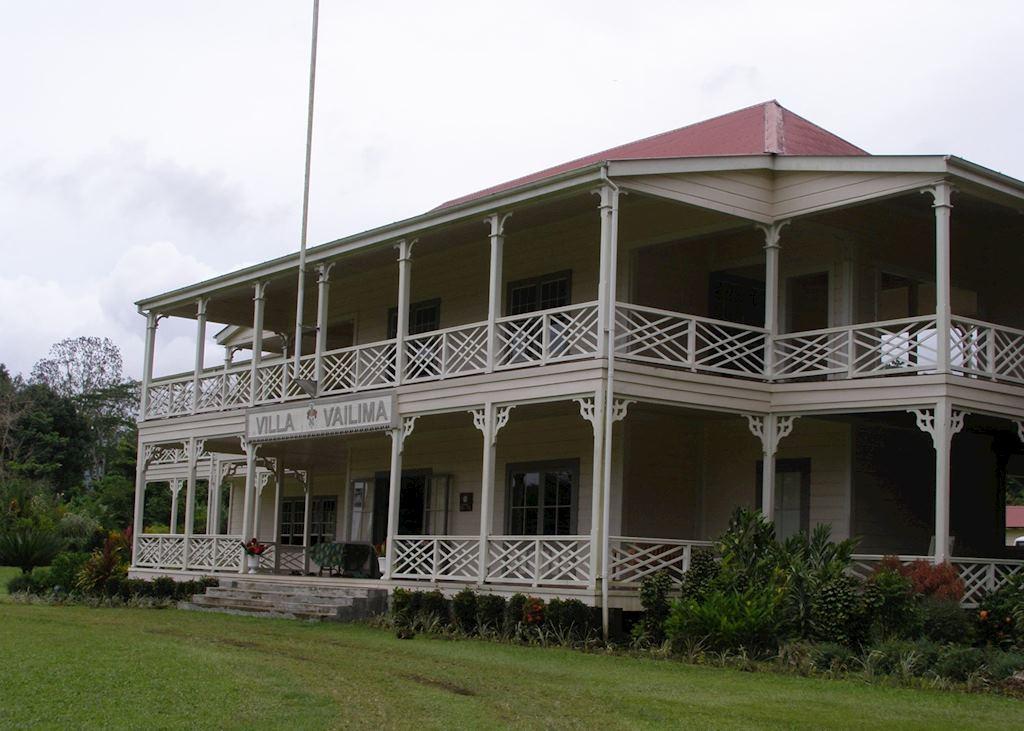Villa Vailima, Robert Louis Stevenson's House, Apia