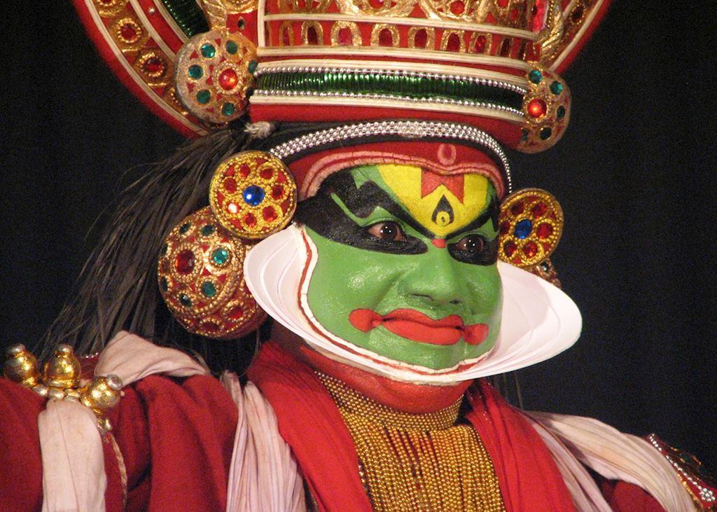 Kathakali performer, Cochin