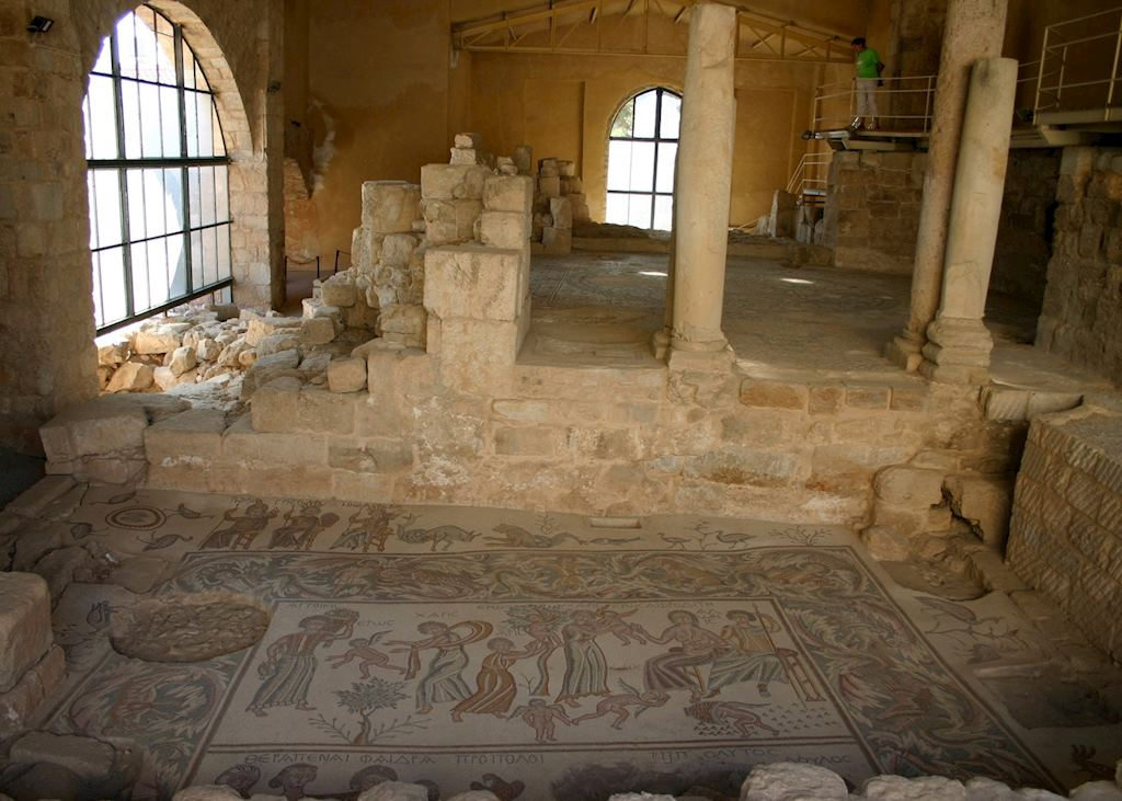 Mosaic, Madaba Archaeological Park