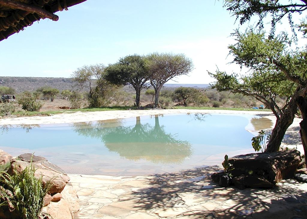 The pool at Sosian