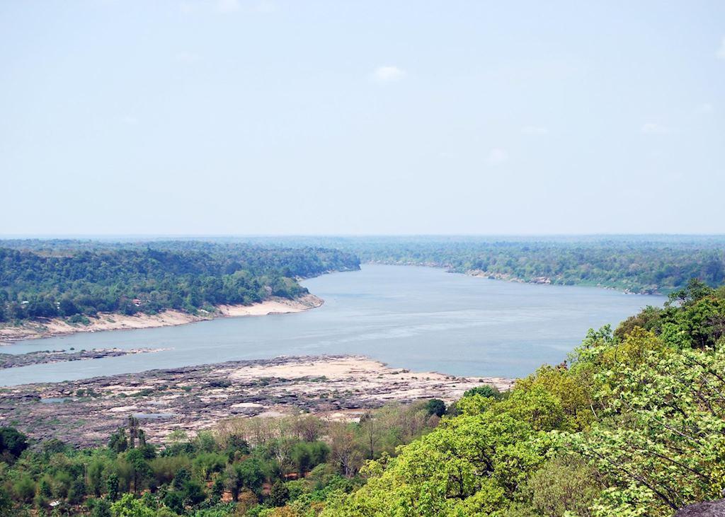 Mekong River Khong Jiam, Thailand
