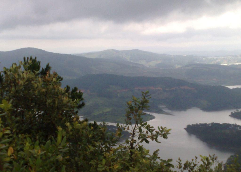 View from Pinhatt. Dalat