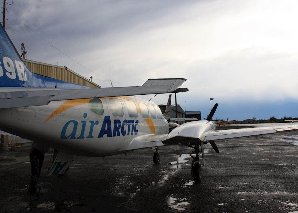 Arctic flightseeing
