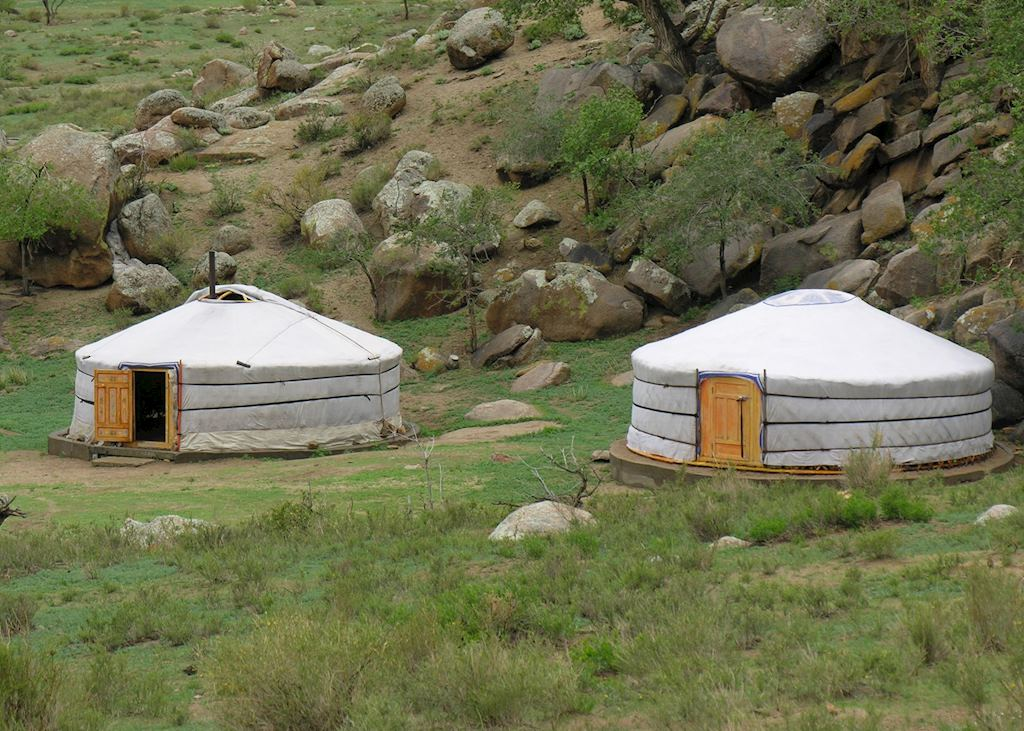 Monastery Camp, Khogno Khan Mountain