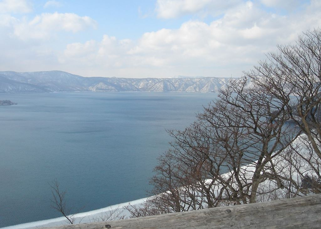 View over lake Towada