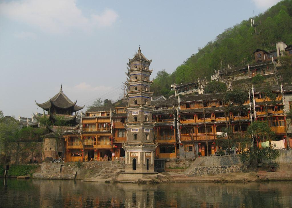 Wan Ming Tower, Fenghuang