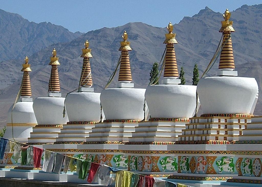 Stupas, Ladakh