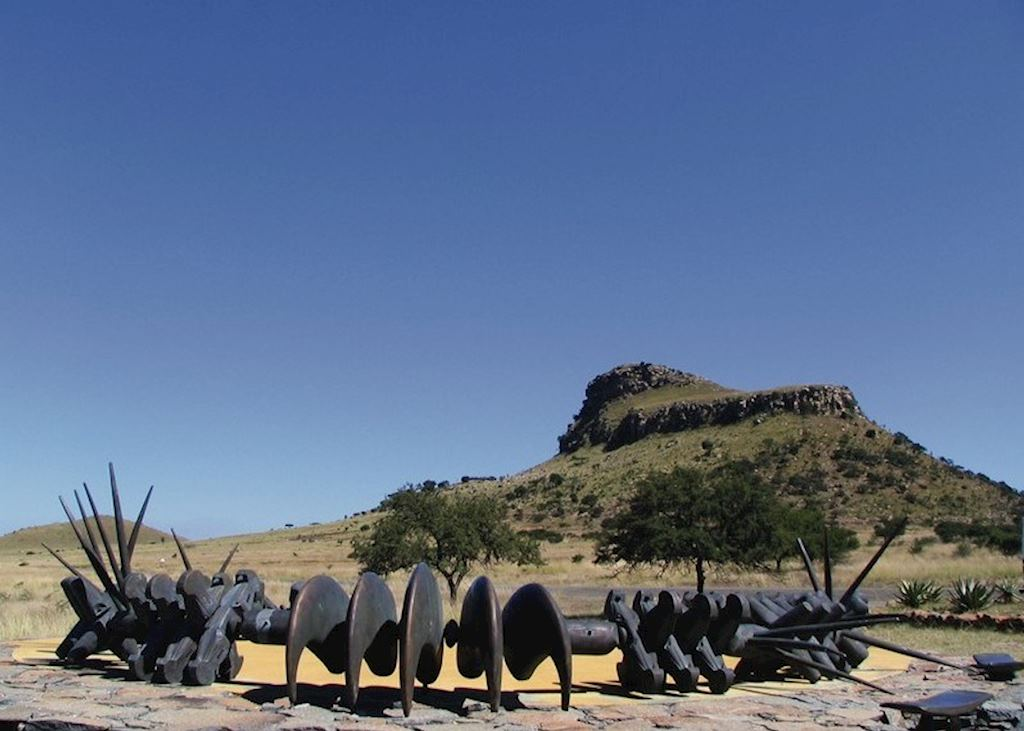 Zulu Memorial, The Battlefields, South Africa
