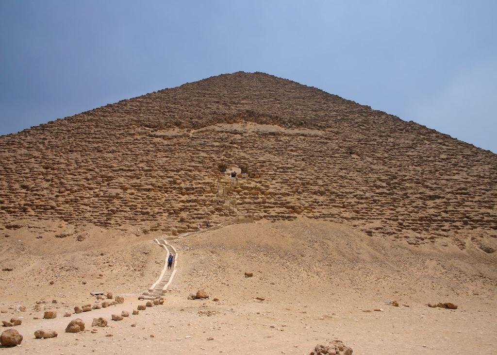 The Red Pyramid, Dahshur