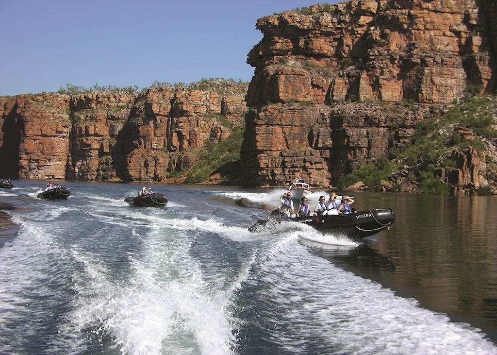 Exploring the Kimberley with Orion Cruises