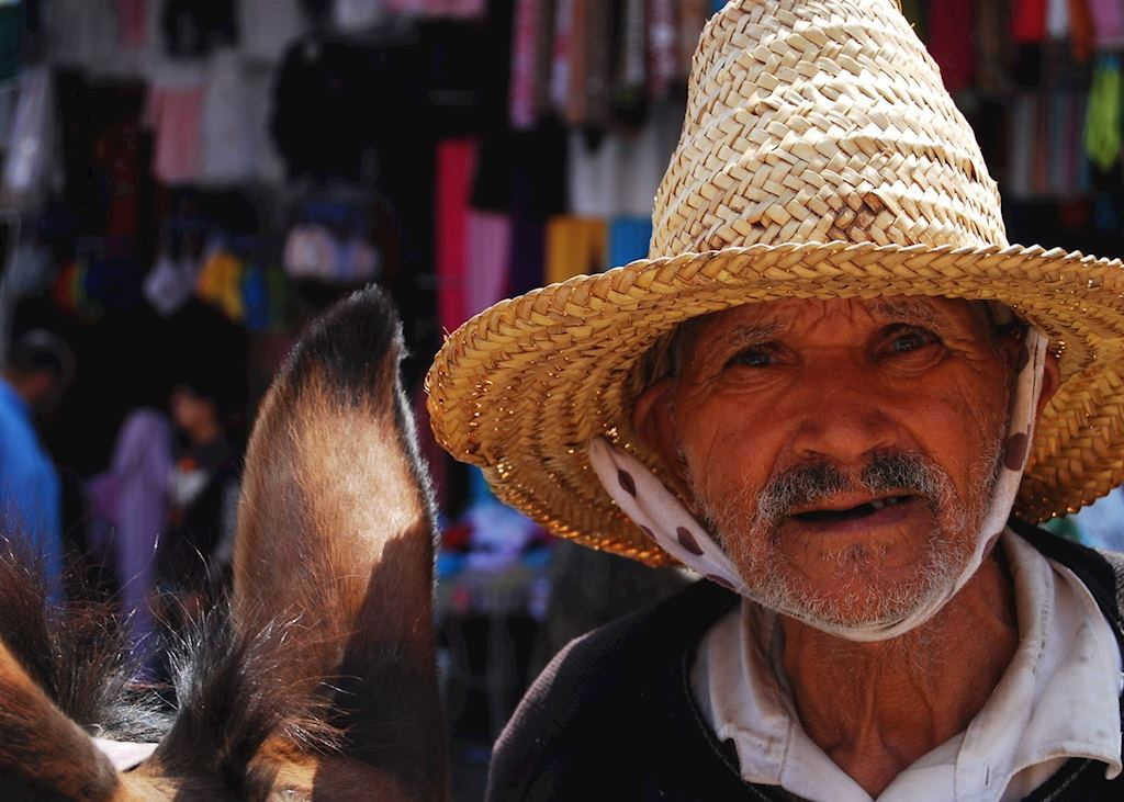 Local man, Morocco