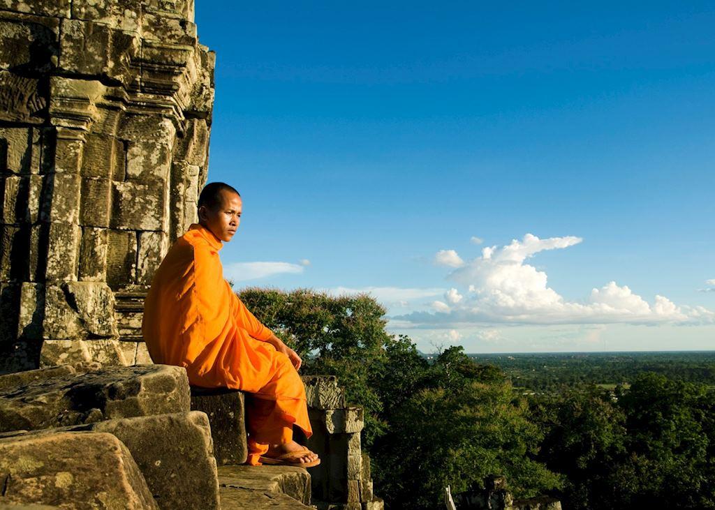 Monk, Angkor Wat