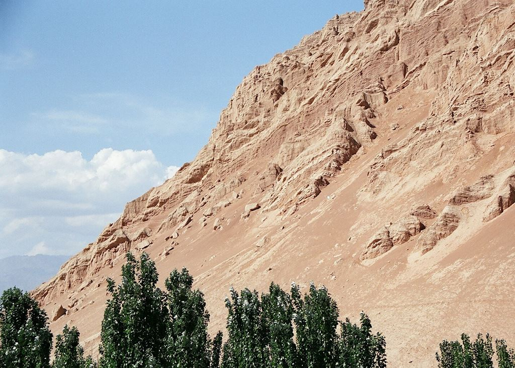 The Flaming Mountains, Bezeklik, Xinjiang