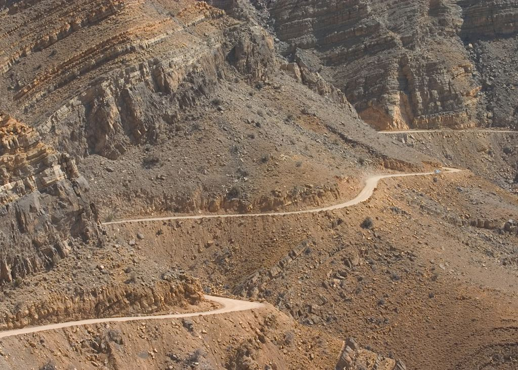 Mountain road, near Salalah