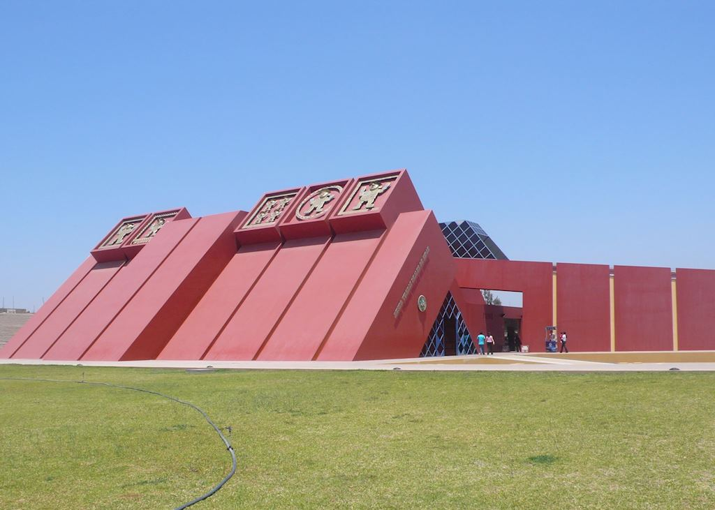 New Sipan museum, Chiclayo