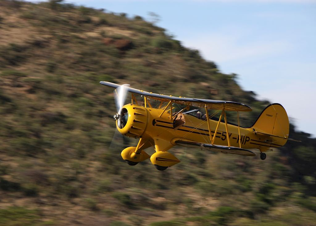 Lewa Wilderness Trails - Waco Biplane