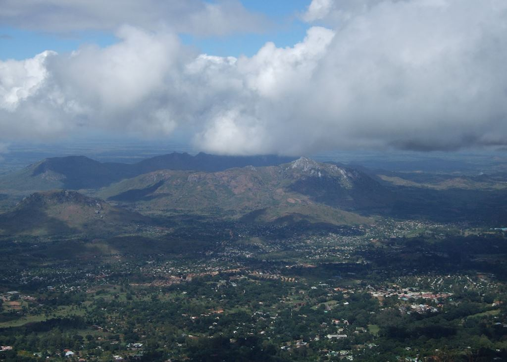 View from the Zomba Plateau, Malawi