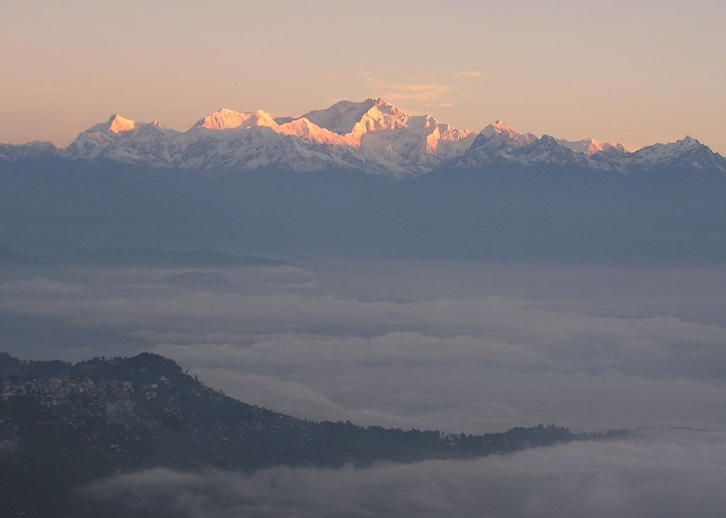 Sunrise on Mount Kanchenjunga