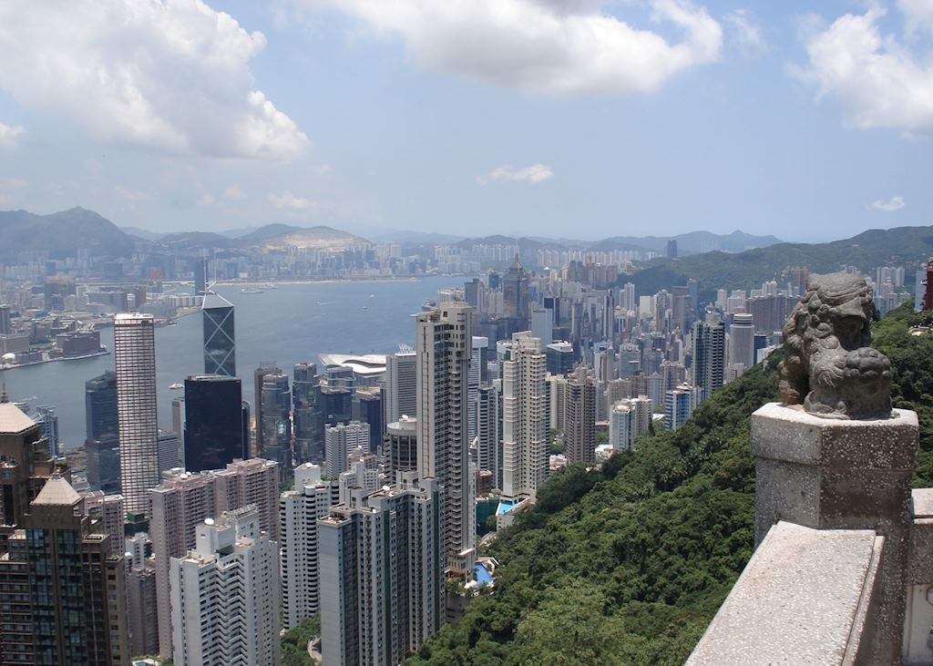View from Victoria Peak, Hong Kong