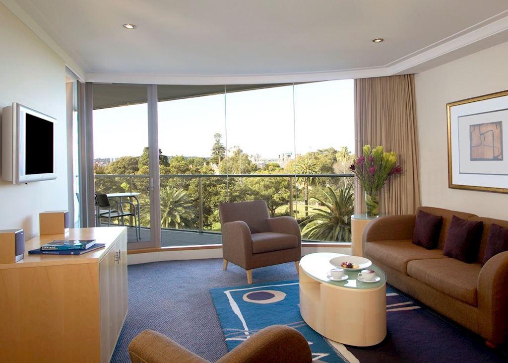 One Bedroom Garden View Suite, Pullman Quay Grand Suites, Sydney