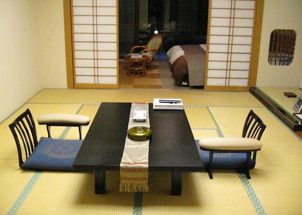 Japanese/ Western room, Okunoin Tokugawa, Nikko
