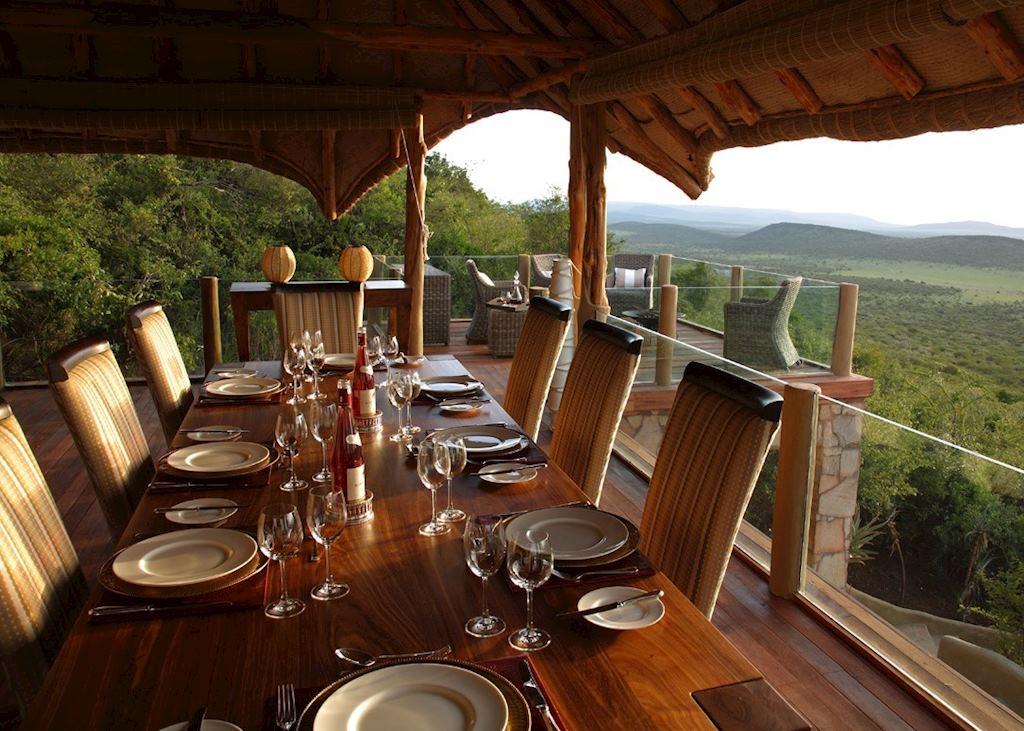 Dining at Olarro, Loita Hills